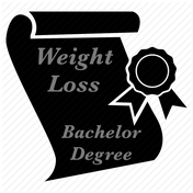 Weight loss bachelor degree by Virtual Personal Trainer