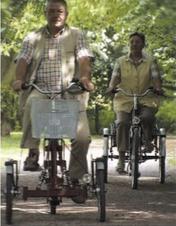 Dreirad fit für Herbst und Winter
