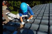 雨漏り修理工事の様子【やね(屋根)のヤマムラ】