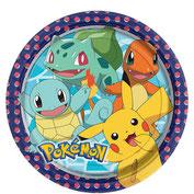 Pokémon, Pikachu, Pappteller