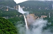 Gocta Wasserfälle - Mit 771 m Höhe mit die dritthöchsten weltweit