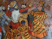 Pizarro und Atahualpa