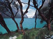 Lagune Llanganuco im Nationalpark Huascaran