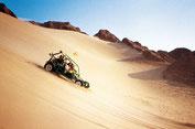 Wüstenbuggy in den Dünen von Ica