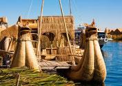 Titicacasee - Schwimmende Insel der Uros