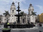 Kathedrale von Lima an der Plaza Mayor