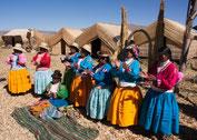 """Titicacasee: Bewohner der """"schwimmenden Inseln"""" die """"Uro"""""""