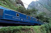 Hiram Bingham Zug von Orient Express