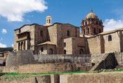 Der Sonnentempel, Koricancha, der Inca in Cuzco