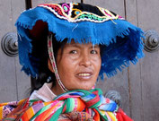 Nachfahrin der Inka