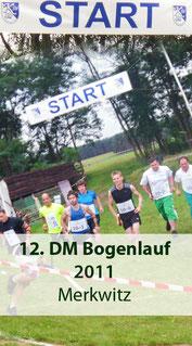 12. DM im Bogenlaufen  in Merkwitz 2011