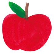 大きなリンゴ画像