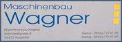 Maschinenbau Wagner - Web-Logo