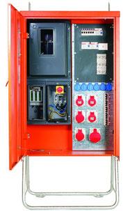 CEE 125A Verteilerkasten - Baustromverteiler