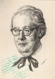 André Segovia, musicien  1959