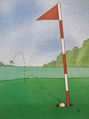 『ゴルフの本』33ページ目