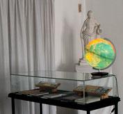 Bilder zur Ausstellung in den Räumen auf dem Alten Berliner Garnisonfriedhof