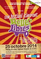 """Festival ADGVE """"Roues Libres"""" - édition 2014"""