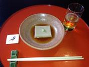 濃厚なゴマ豆腐