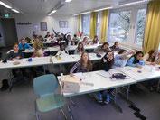 Arbeiten im Klassenzimmer