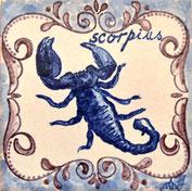 Sternzeichen: Skorpion 24.10.-22.11., Art.-Nr.: AZ-Sorpion