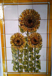 """Sonnenblumen"" Art.-Nr.: PN-111, Größe: 84x56cm"