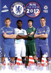 Programme  Chelsea-PSG  2012-13