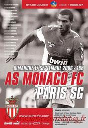 Affiche  Monaco-PSG  2006-07