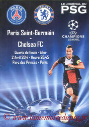 Programme  PSG-Chelsea  2013-14 (pirate)