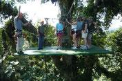 Plataforma Athica Canopy Tour