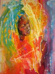"""""""Kind der Sonne"""" 60x40 Öl auf Leinwand"""