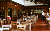 Restaurant with view to the Arenal Volcano