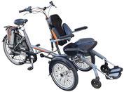 van Raam O-Pair 2 Rollfiets Rollstuhlfahrrad Dreirad und Elektro-Dreirad für Erwachsene - Spezial-Dreirad 2020