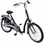 Van Raam Balance Dreirad und Elektro-Dreirad für Erwachsene - Dreirad-Fahrrad Spezial-Dreirad 2017