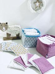 lingettes lavables ninona