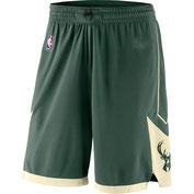шорты Милуоки Бакс зеленые