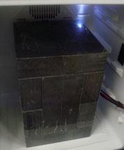 測定用冷蔵庫(鉛板10枚)