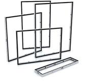 Cleverframe Rahmen stehen in unterschiedlichen Abmessungen zur Verfügung