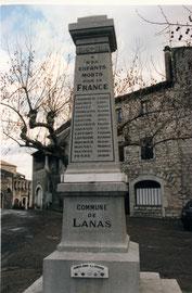 Monument aux Morts 1914-18