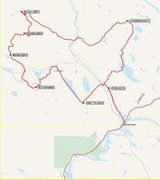 1st. SECTION 151km (Rovaniemi150)