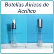 Envases airless de acrílico