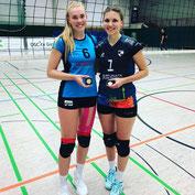 """MVP"" bei den DSCityGirls: Lena Thewes (re)"