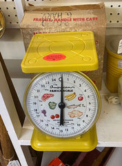 Yellow Kitchen Scale $39.00