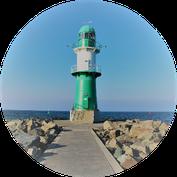 Leuchtturm Warnemünde #reiselandtis #bilderundfilme #ostseeurlaub #reiseland #urlaub