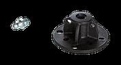 Klebepacker mit HD-Kegelnippel
