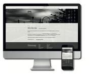 Bild mit Computer und Smartphone zur Demo eigene Website