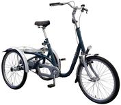 Van Raam Maxi Premium Dreirad und Elektro-Dreirad für Erwachsene - Shopping-Dreirad 2017