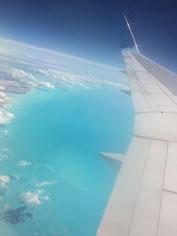 In volo sui Caraibi