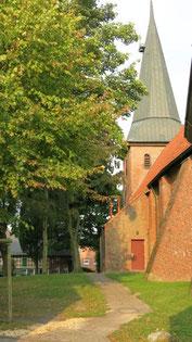 Ansicht der Kirche in Lüdingworth