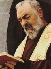 Heiliger Pater Pio bitte für uns!
